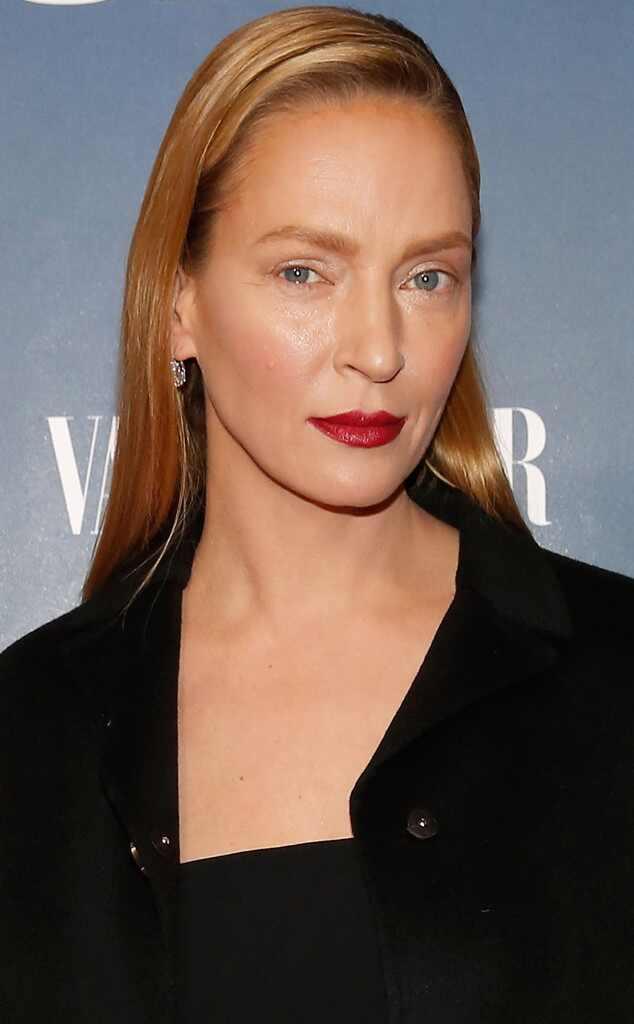 Uma Thurman, 44, Wows in Red Bikini—See - 28.8KB