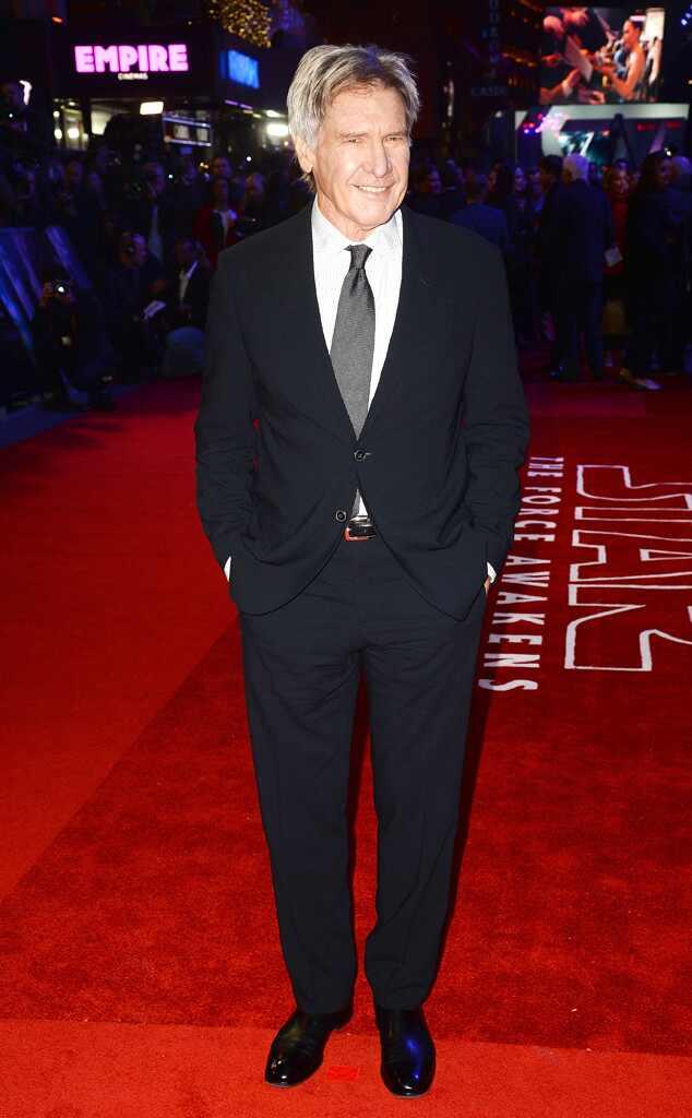 Harrison Ford, Star Wars Premiere, London