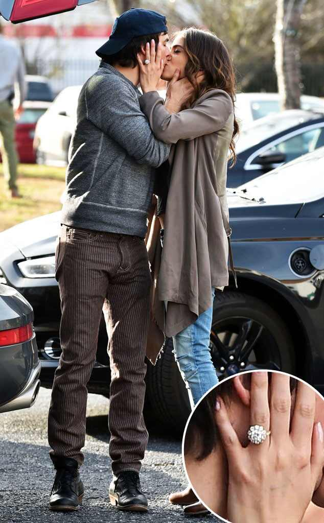 Nikki Reed Flashes Her Diamond Engagement Ring From Ian