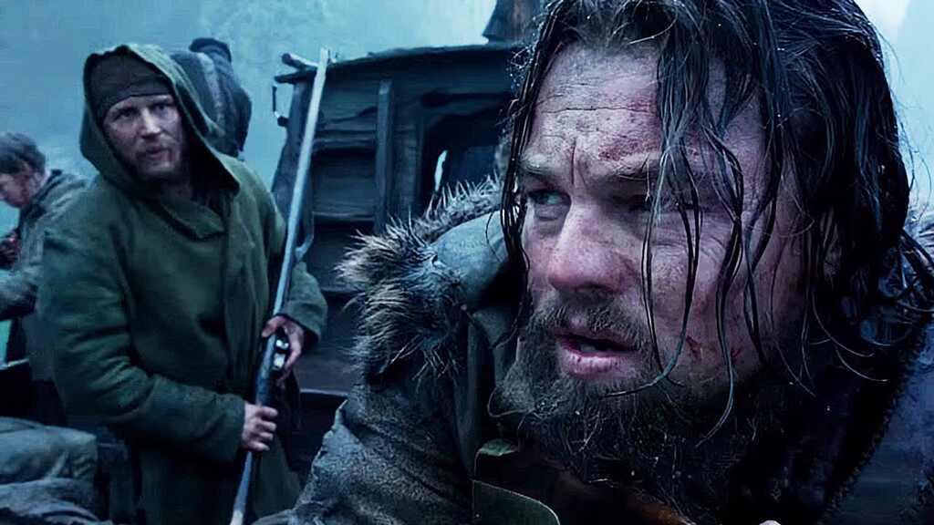 Tom Hardy, Leonardo DiCaprio, The Revenant