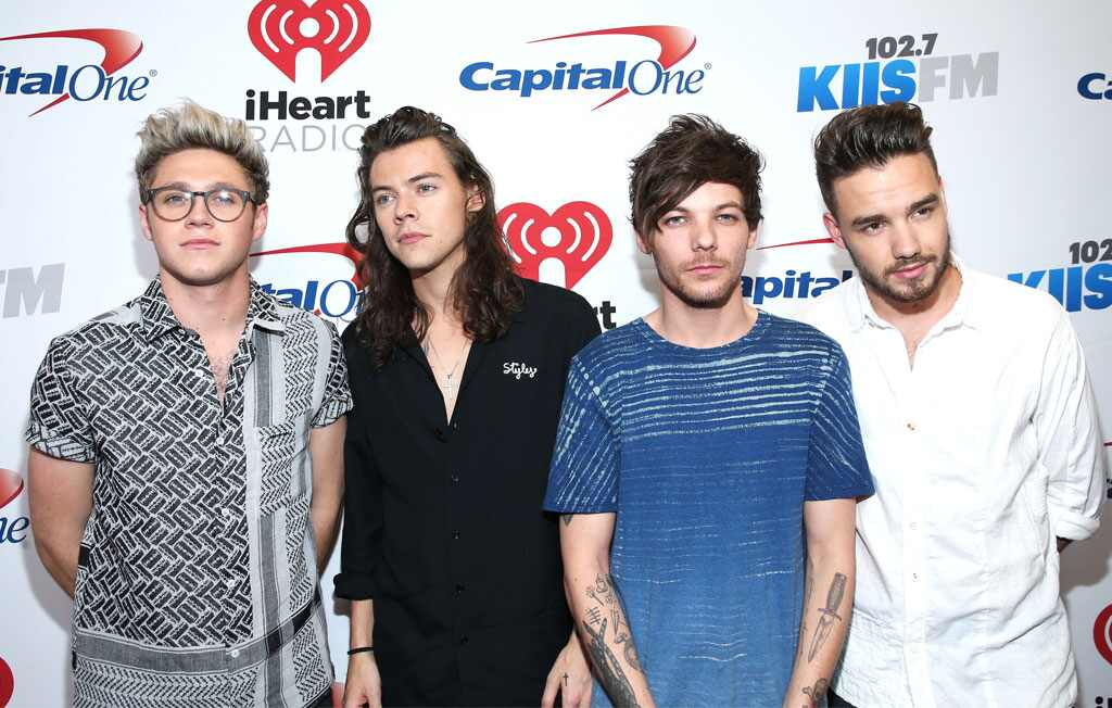 iHeartRadio Jingle Ball, Niall Horan, Harry Styles, Louis Tomlinson, Liam Payne, One Direction
