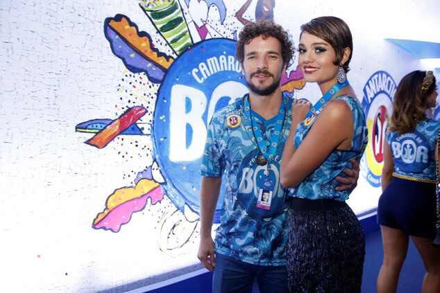 Sophie Charlotte e Daniel de Oliveira