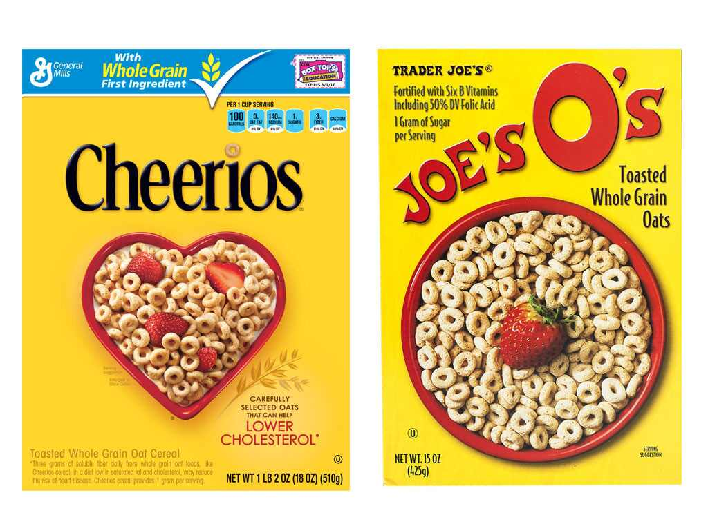 Trader Joe's Knock-Off Foods