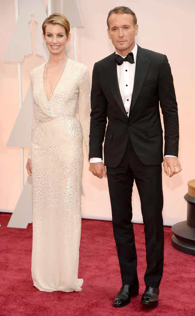 Faith Hill, Tim McGraw, 2015 Academy Awards, Couples