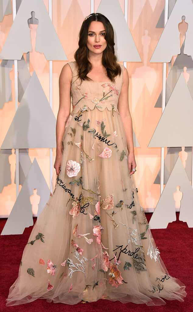 2015 Oscars: Red Carpet Arrivals Keira Knightley, 2015 Academy Awards