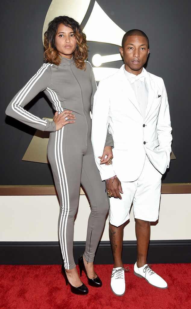 Helen Lasichanh, Pharrell Williams, Grammy Awards, Couples