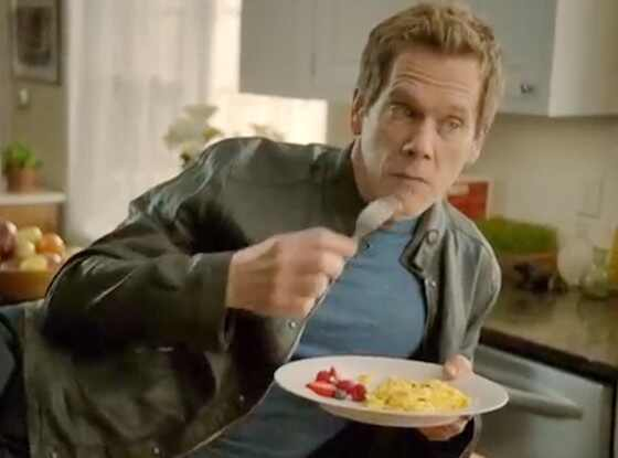 Kevin Bacon Stars in Eggs Ad, Says He Loves the Smell ...