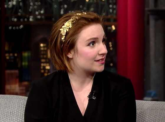 Lena Dunham, Late Show with David Letterman