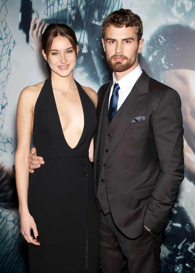 Shailene Woodley & Theo James Stun at Insurgent Premiere ...