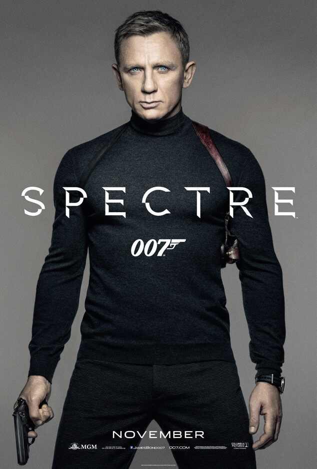 Spectre Poster, Daniel Craig