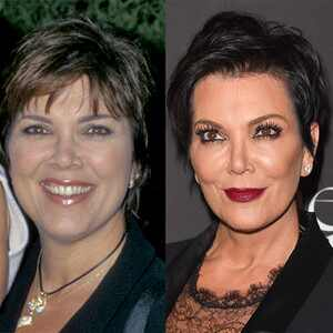 Kris Jenner, Then and Now