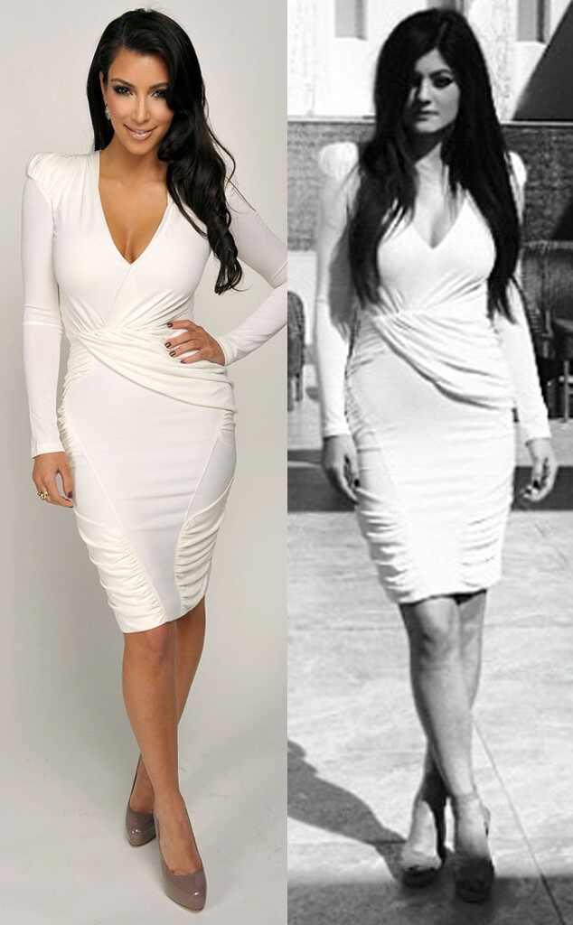 5 Veces En Las Que Kylie Jenner Se Ha Puesto Ropa De Kim