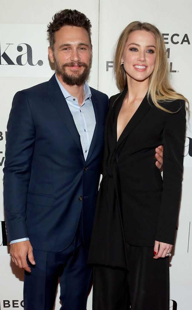 Amber Heard and James ...