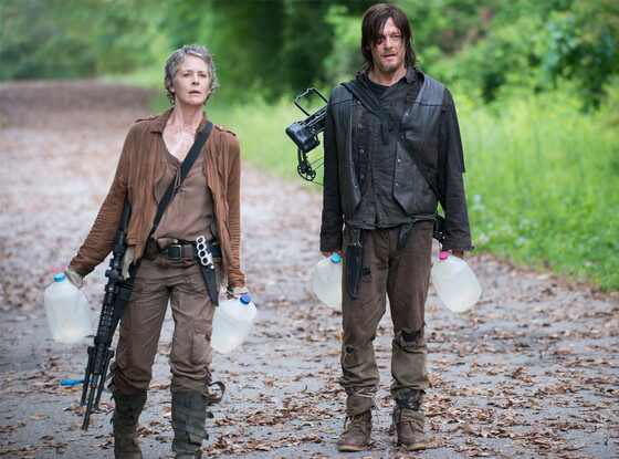 The Walking Dead, Melissa McBride, Norman Reedus