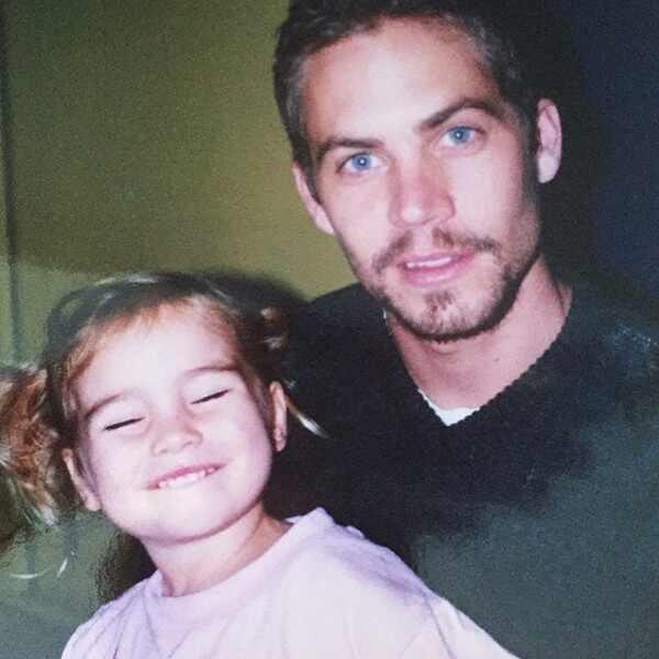 La increíble transformación de la hija del fallecido Paul Walker