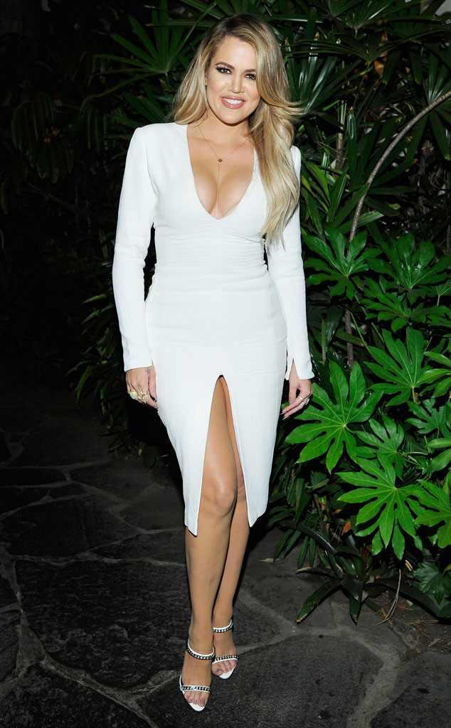 3 month white dress khloe