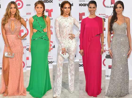 Best Dressed, Billboard Latin Music Awards