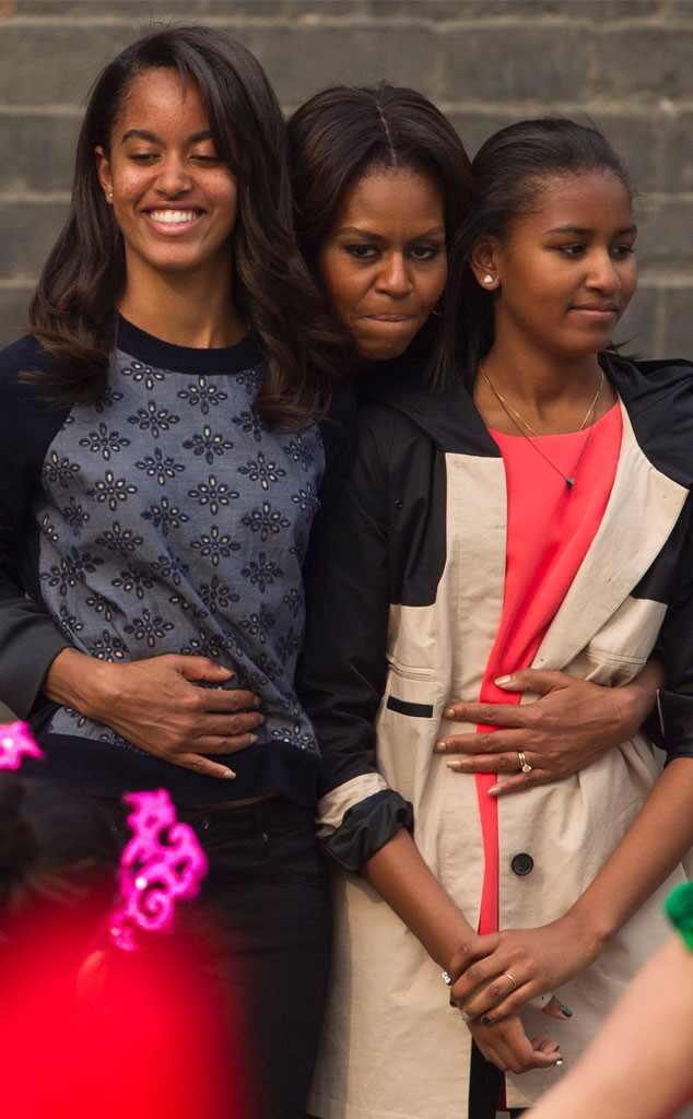 Sasha, la hija menor de Barack Obama, consiguió trabajo como ...