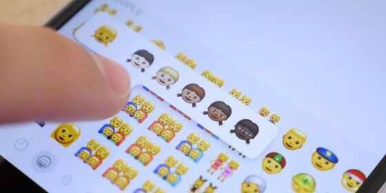 Emoji, iOS 8.3