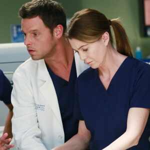 Grey's Anatomy, Ellen Pompeo, Justin Chambers