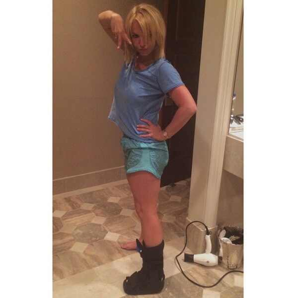 Britney Spears Shows O...