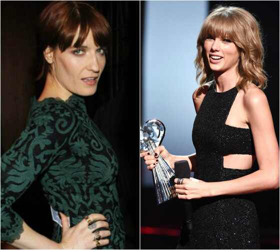 Florence Welch, Taylor Swift