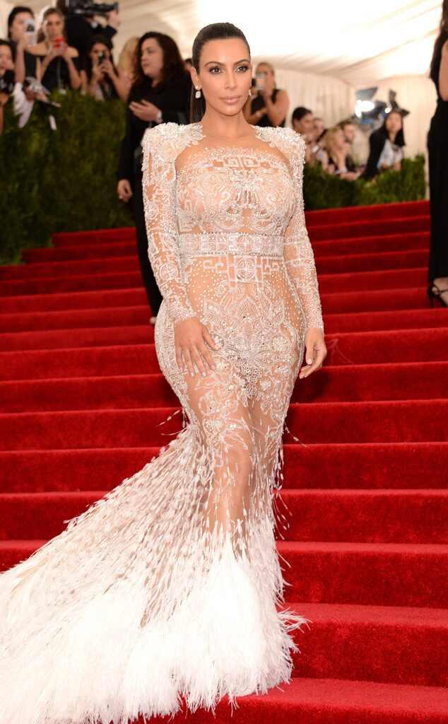 2015 Met Gala Arrivals Kim Kardashian West, Met Gala 2015