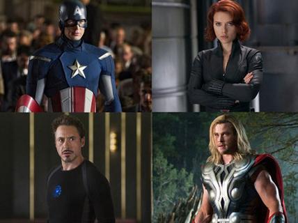7) Os Vingadores (The Avengers)