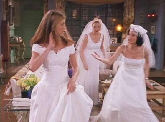 Best TV/Movie Weddings, Friends