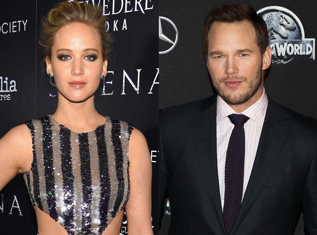 Jennifer Lawrence, Chris Pratt