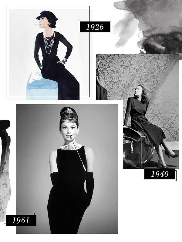 A Brief History of the Little Black Dress—From Coco Chanel to Posh ...