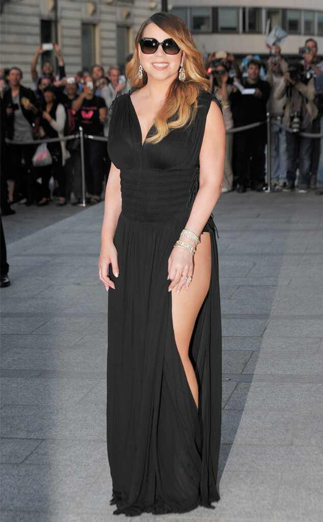 Mariah Carey Nearly Flashes Her Butt in Super Sexy Dress! See the ...