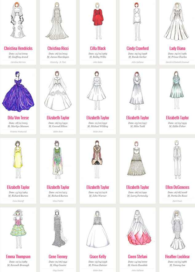 Wedding Gowns Sketches 23