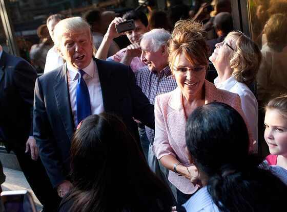 Sarah Palin, Donald Trump