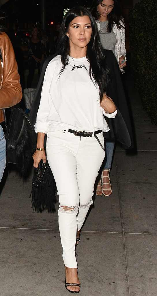 Here Are 9 Outfits Proving Kourtney Kardashian Is Sexier Than Ever After Splitting With Scott