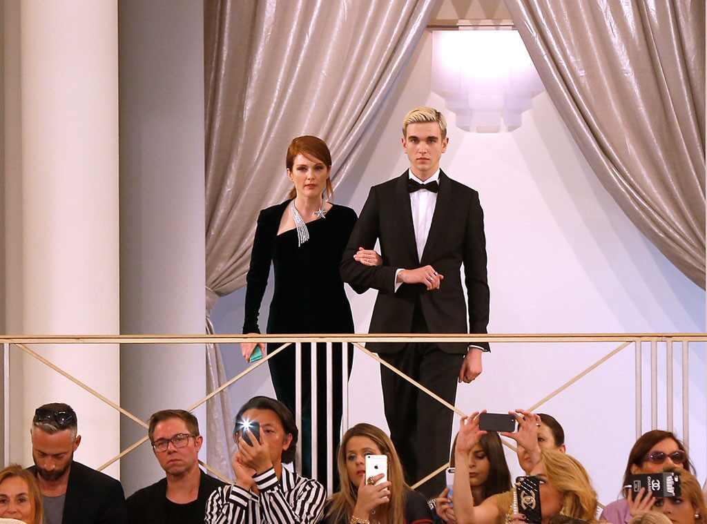 Gabriel Kane Day Lewis, Julianne Moore, Vogue Paris Foundation Gala