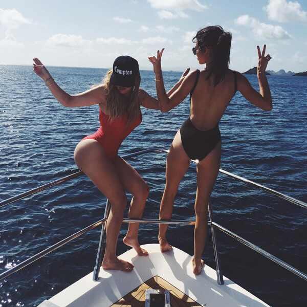 Khloe Kardashian, Kendall Jenner