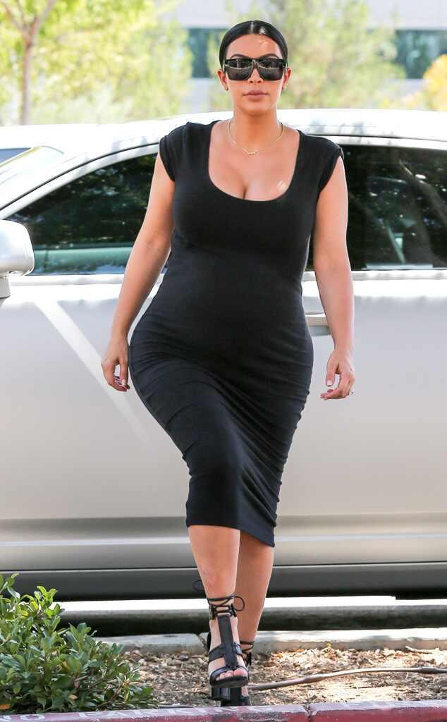 Curves Ahead from Kim Kardashian's Pregnancy Style | E! News