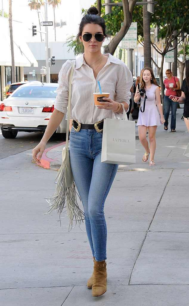 Western Way From Kendall Jenner 39 S Street Style E News
