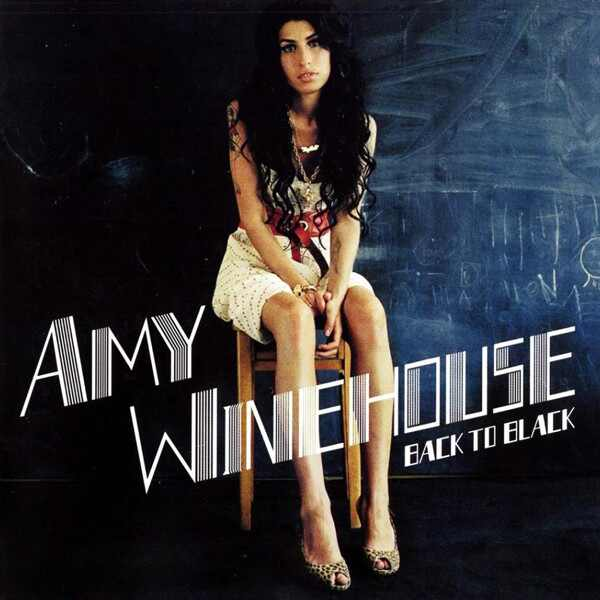 Amy Winehouse, Back To Black, Album Cover
