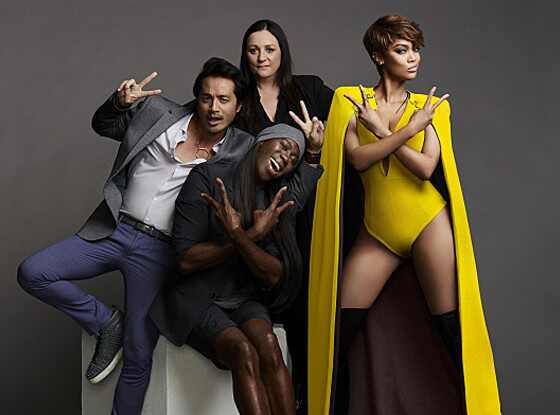 America's Next Top Model, Tyra Banks, J. Alexander, Miss J,  Yu Tsai, Kelly Cutrone