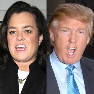 Rosie O'Donnell, Donald Trump
