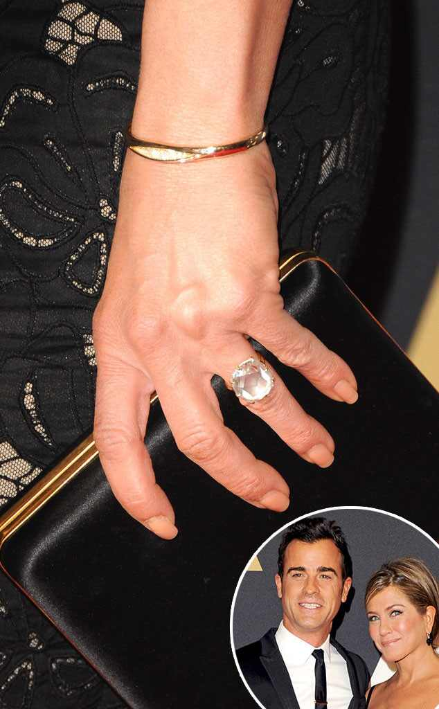 brad pitt jennifer aniston wedding ring