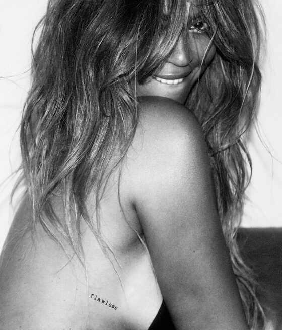 Beyoncé, tatuagens