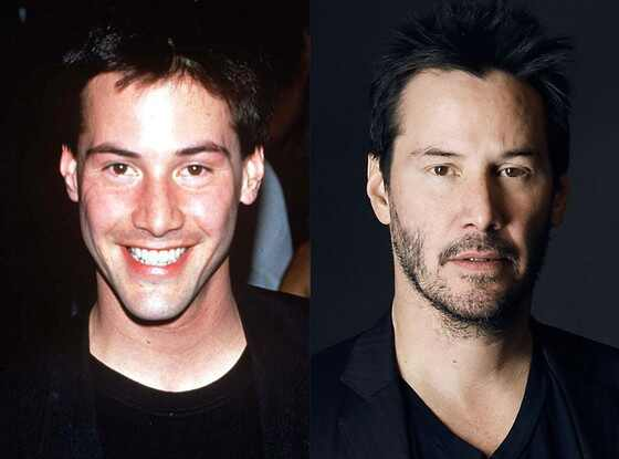 Keanu Reeves, Stars Who Never Age