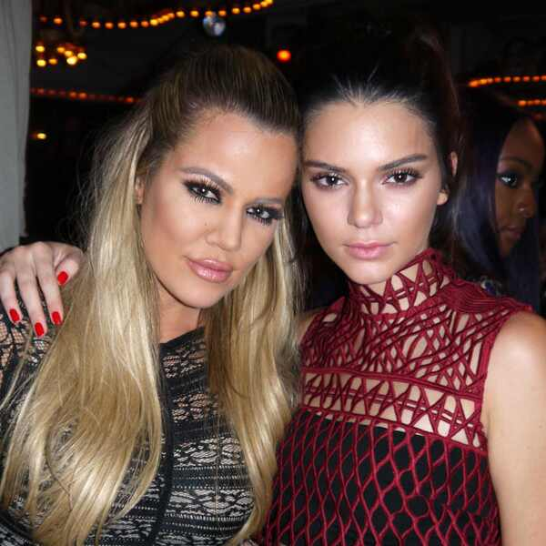 Kendall Jenner, Khloe Kardashian, Galore Party