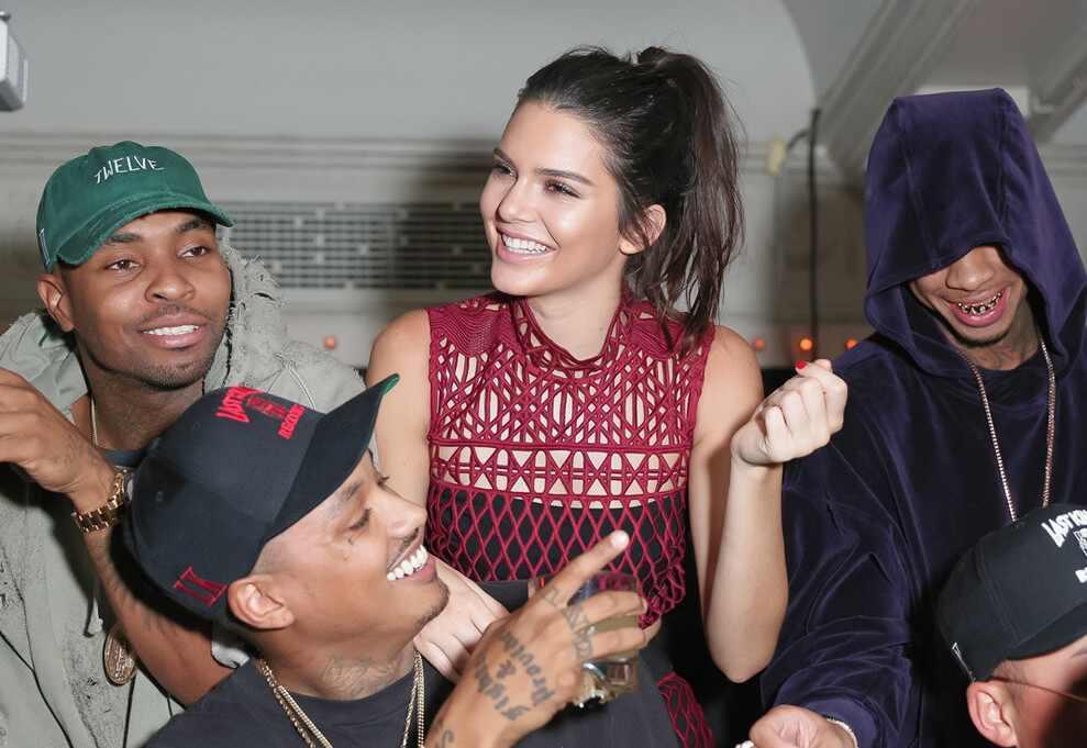 Tyga, Kendall Jenner