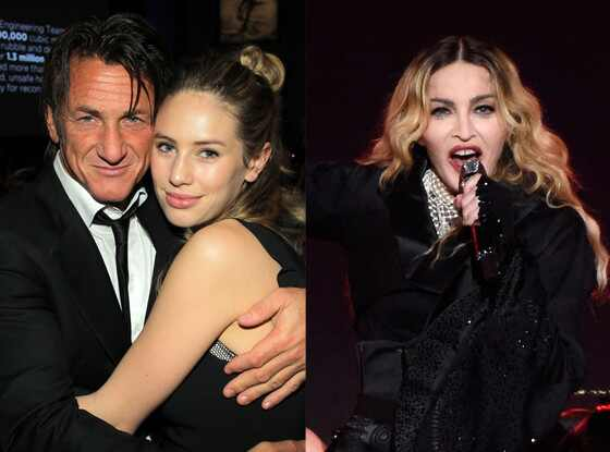 Sean Penn Introduces Daughter Dylan Penn To Madonna For
