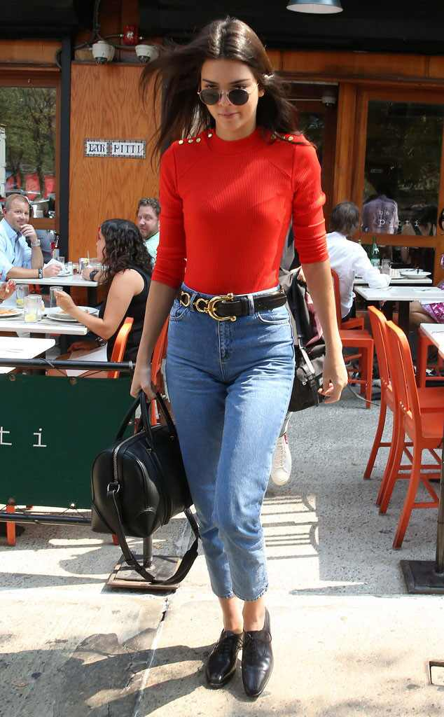 Pre Nyfw From Kendall Jenner 39 S Street Style E News