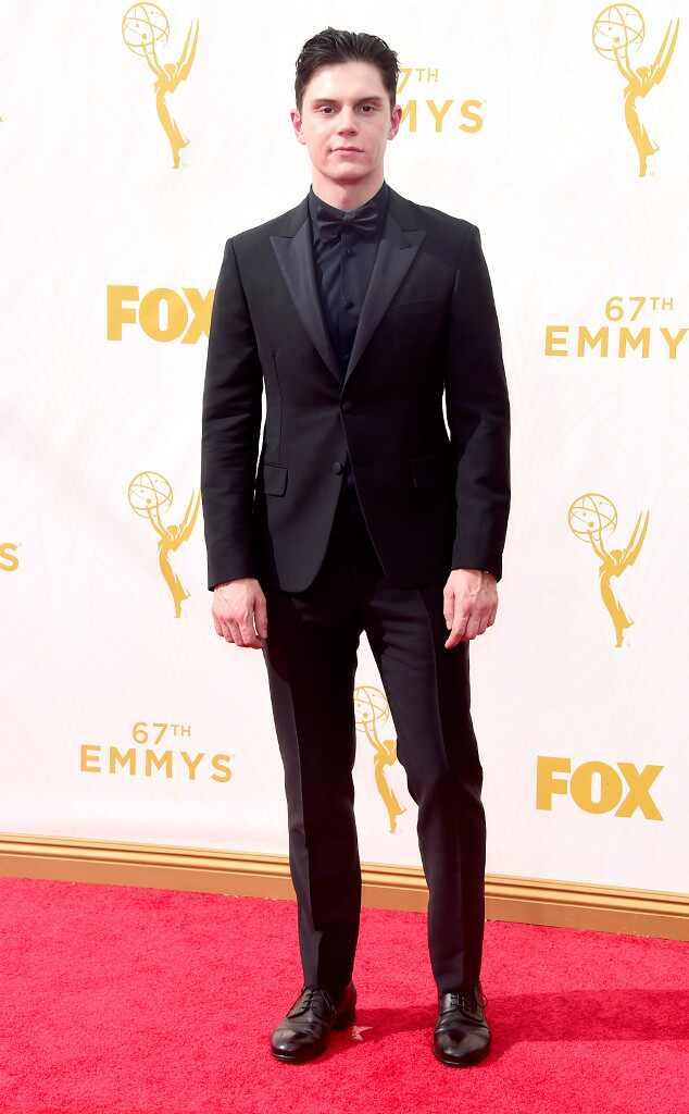 Evan Peters, Emmy Awards 2015